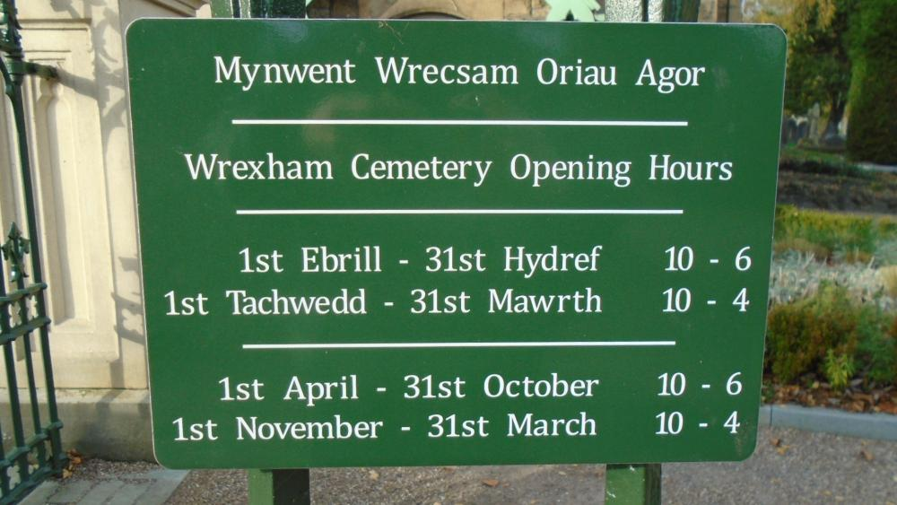 Friends of Wrexham Cemetery